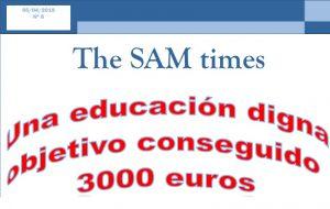 "Nº8 de ""The SAM Times"""