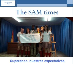Nº 9 de «The SAM Times»