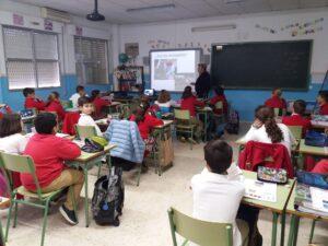 Taller de huertos urbanos y agricultura ecológica para escolares