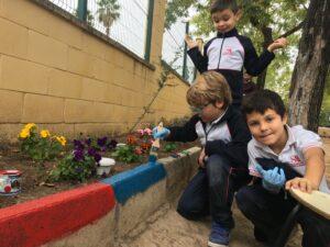 Taller de jardinería primer ciclo de primaria