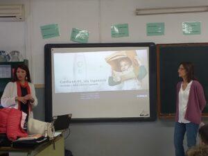 Nos visitaron: Beatriz Echevarría y Eva Barajas «Ingeniería y sociedad»