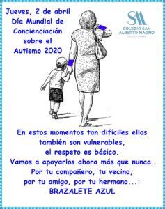 Gabinete: Día mundial de concienciación sobre el autismo