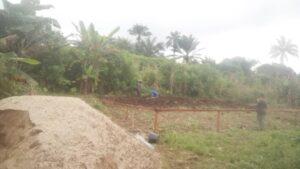 Comienzan las obras en el colegio de Manjo (Camerún) – UNA EDUCACIÓN DIGNA