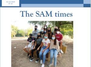 Nuevo número de The SAM Times