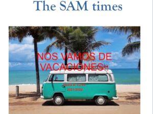 Último número de The SAM Times del curso 2020/21