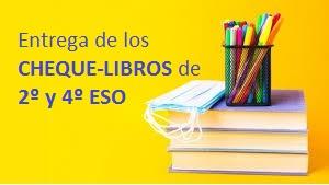 Entrega CHEQUE-LIBROS 2º y 4º ESO