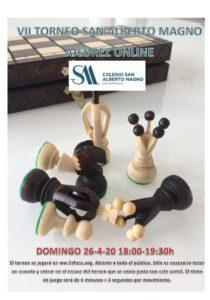 VII Torneo ajedrez online SAM (26/4/20)