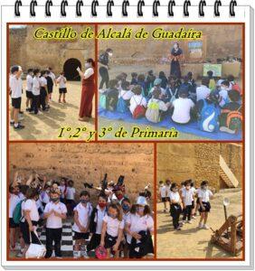 Primaria visita el Castillo de Alcalá