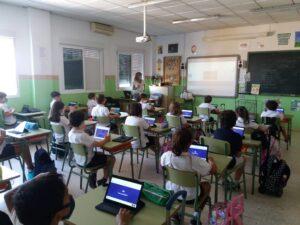 Uso de las TIC en primaria